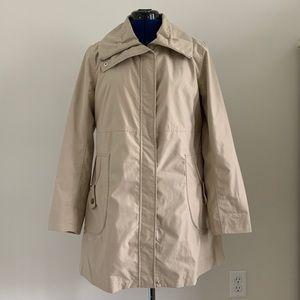 Land's End rain jacket size S swing style